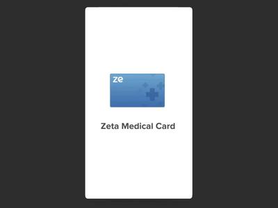 Zeta Medical Card   Onboarding by Saptarshi Prakash for Zeta