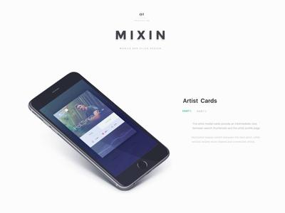 MIXIN   Portfolio Case File by Drew Endly