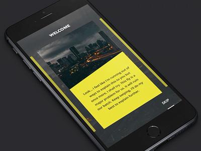 Photo Walkthrough by Creativedash design ui app design ios application app mobile interface animation interaction
