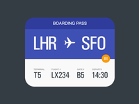 Material Boarding Pass by Chris Gannon