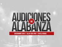 Audiciones Alabanza