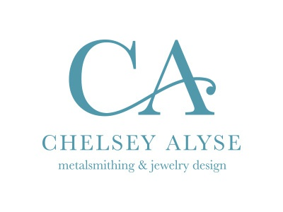 Chelsey Alyse Logo jewelry metalsmith logo