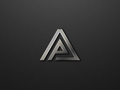 Letter P & A logo design ux vektor vexel app typography icondesign vector lettering design illustration ui branding logo graphic design motion graphics 3d animation letter p  a logo design