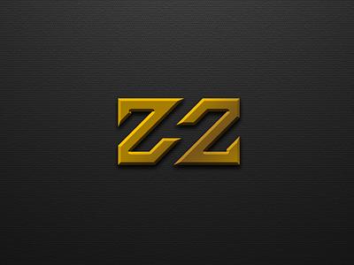 Letter Z H Z logo design typography ux vector app lettering design illustration ui animation branding logo motion graphics graphic design 3d letter z h z logo design