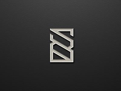 S B MONOGRAM LOGO DESIGN typography ux vector app lettering illustration design branding ui logo motion graphics graphic design 3d animation s b monogram logo design