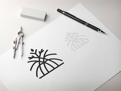 line art logo typography ux vector app lettering illustration design branding logo motion graphics graphic design 3d animation ui line art logo