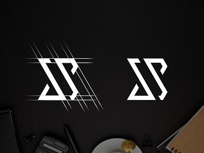 Letter S & S Logo design typography ux vector design app lettering illustration branding logo motion graphics ui graphic design 3d animation letter s  s logo design