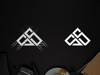Letter S S monogram logo design typography ux app vector lettering illustration design branding logo motion graphics graphic design 3d animation ui letter s s monogram logo