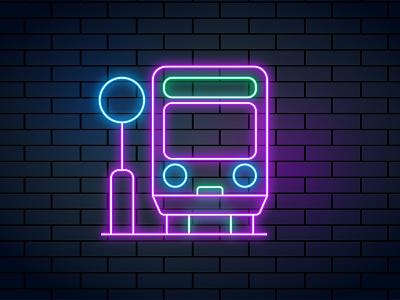 Neon bangla logo facebook post desing add design graphic design neon post neon
