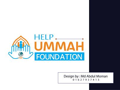 Help Ummah Logo faoundationlogo ummahlogo logos branding logo