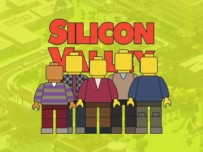 Silicon Valley Lego (Sketch Freebie) pied piper hbo silicon valley whatever or it download lego
