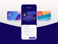 Credit Card Checkout clean card ui design flat ux user interface 2d ui sketch daily ui ios credit card checkout app mobile ui