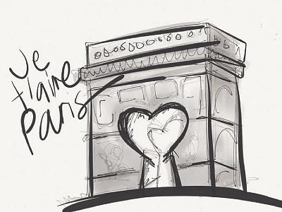 Je t'aime Paris france paris