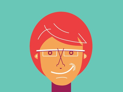 Oh, look, it's me. doodle portrait self selfie
