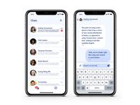 Chat App UI Concept