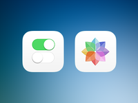 iOS 7 icons (wip)