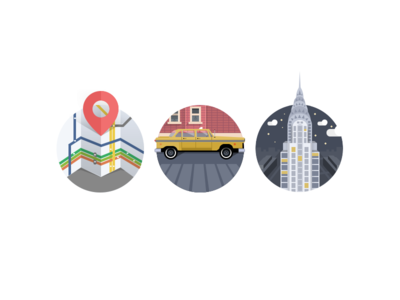 City illustrations (wip)