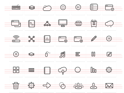 Othericons 3.0 (set) icons set outline ios7 ios vector free