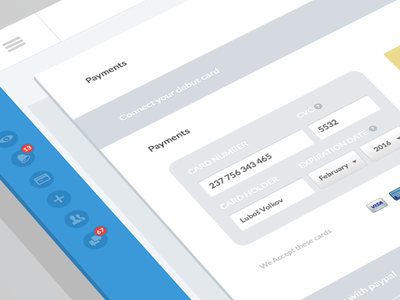 Payments settings (wip)