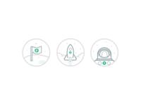 Space badges (wip)