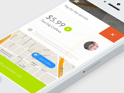 Payment method (wip) payment location map ios7 close money local invite iphone render