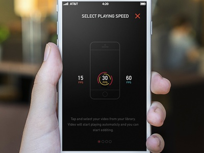 Krono Video App free animations appstore render icons outlines lines tour illustration app ios