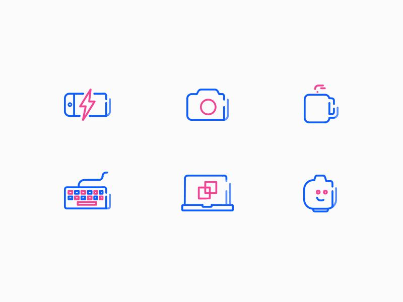 Icon promo dribbble
