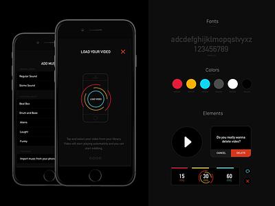 Krono App (study) data running recording camera motion study video app ios