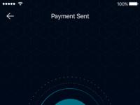 Payment sent ui