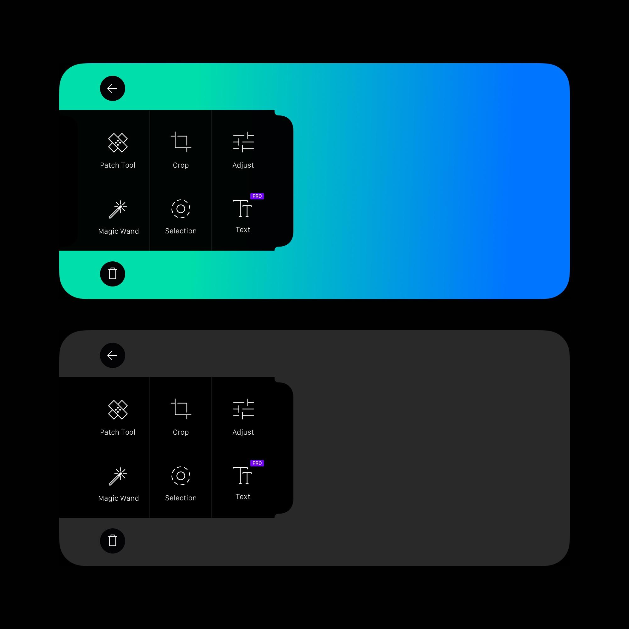 Iphone  x  photo app widget
