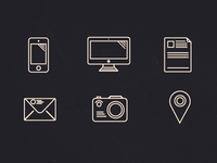 Outline icons (set)