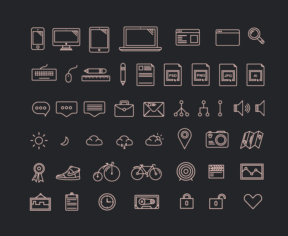Dribbble Prev Icons Png By Lubo Volkov