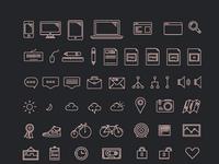 Prev icons