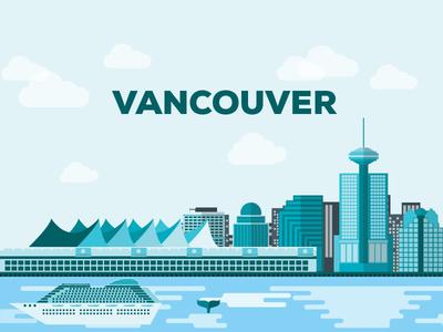 Vancouver Flat Design design canada illustrator graphic flat design vancouver