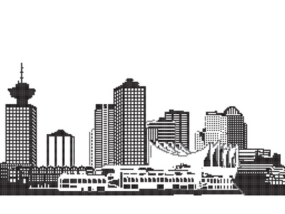 Pixel Vancouver ai art design graphic pixel