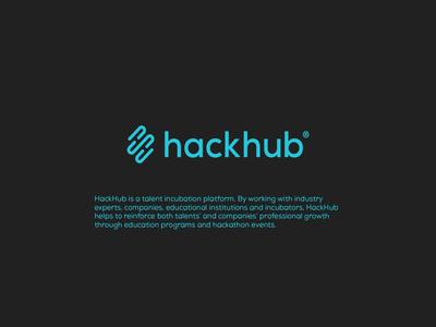 HackHub Brand hackhub logo brand graphic design