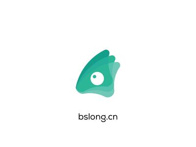 bslong | Brand Design flat  design chameleon vi brand identity branding agency branding graphic design logo graphic design