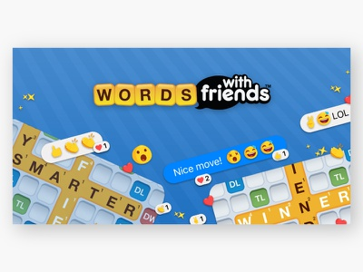Words With Friends on Messenger zynga words with friends visual design instant game
