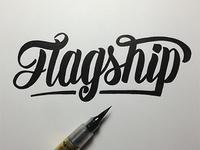 Flagship Logo Concept
