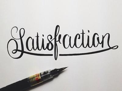 Satisfaction brush