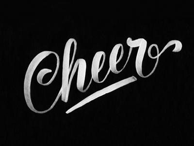 Cheer dribbble
