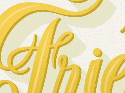 The Power of Friendship script lettering shadow typography design magazine type handlettering texture friendship power