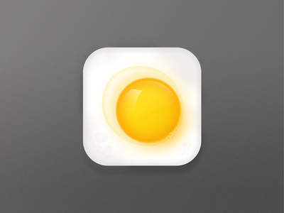 The Sunny Side Egg perfectday breakfast yellow egg sunny dream iconcutie hello