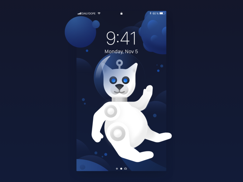 NYRWP | 003 planet outerspace space cat wallpaper downloadable free hello