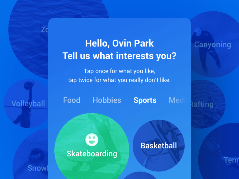 Google Maps | Make It Truly Yours sport drink food preference design thinking ui map google maps google design google hello