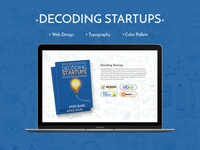 Website Design Decoding Startups