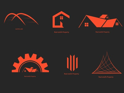 LogoFolio vol-4 logo inspiration logo collection real estate logo logo branding design brand identity graphic design