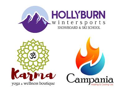 Logos from concept - in Adobe Illustrator vector illustration adobe illustrator design concept logo branding graphic design