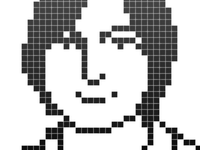 Steve Jobs icon by Susan Kare