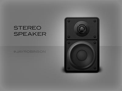 Stereo Speaker braun stereo speaker music icon